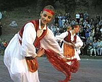 Folkloric Dance in Typical-Costume-of-South-Albania